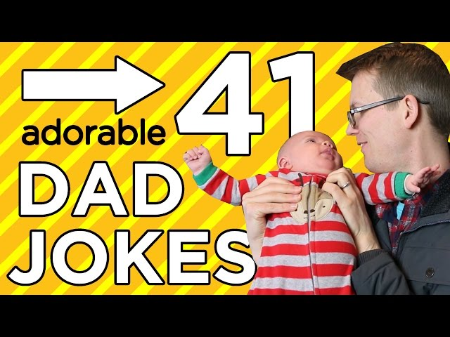 41 Dad Jokes in 4 Minutes! (with special guest star...)