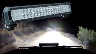 Off Road Jeep & Vehicle LED Light Bars - LAMPHUS ® Cruizer ™ Product Review & Night Drive Demo