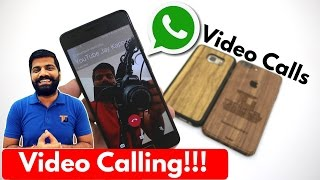 Whatsapp Video Calling!!!! With Live Demo 😃