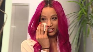Sasha Banks emotional reaction to the announcement of the new WWE Women's Championship - Bonus Clip