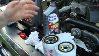 How to change the oil in a 4.9l Inline 6