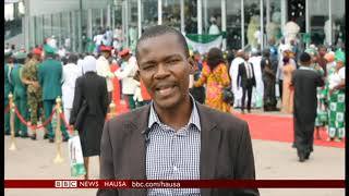 An rantsar da Shugaban Najeriya, Muhammadu Buhari, don yin wa'adin mulki na biyu.