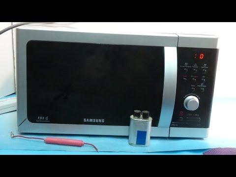 Как починить микроволновку самсунг
