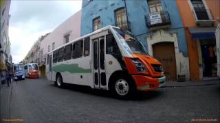 Riding On A Mexican City Bus