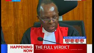 Supreme Court Judge, Jackton Ojwang' outlines his dissenting verdict [Part 1]
