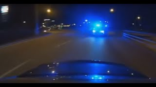 Highspeed POLICE CHASE (Almost Caught) 2016 4min of hot action
