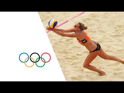 Women s Beach Volleyball Pool D NED v ESP London 2012 Olympics