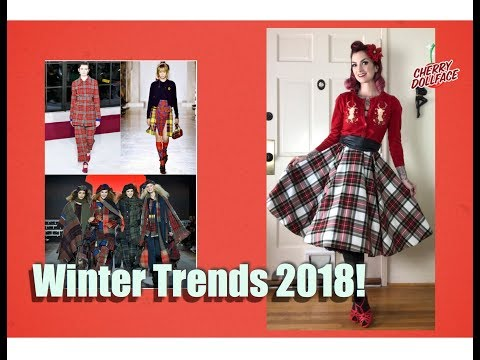 Xxx Mp4 Winter Trends 2018 My Vintage Spin By CHERRY DOLLFACE 3gp Sex