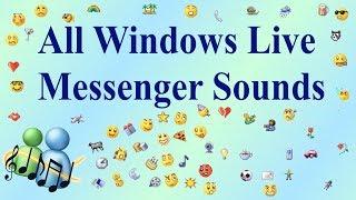 ALL WINDOWS LIVE MESSENGER [MSN] SOUNDS (1999-2013)