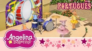 Angelina Ballerina Brasil - A apresentação da batería