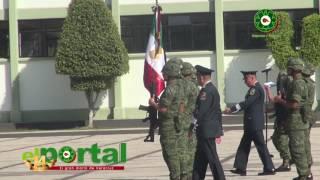 Toma de protesta en el 63o Batallón de Infantería 26:a Zona Militar