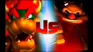 Bowser Vs Dr. Eggman (Rap Battles Of Video Games All Stars)(Season 5)