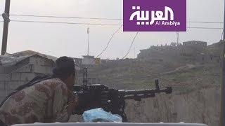 شاهد تقدم القوات اليمنية شرق تعز