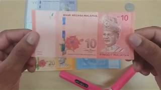 Malaysian paper and coin currency  [Ringit Money]