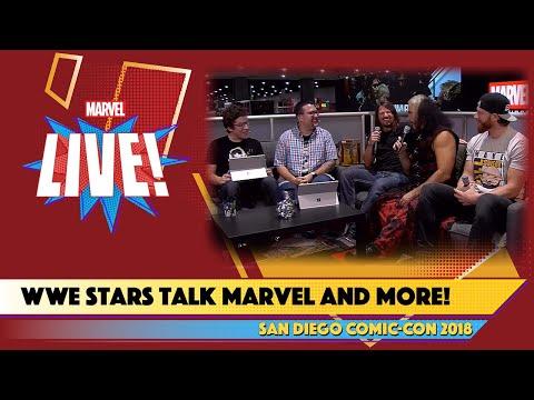 Xxx Mp4 WWE Stars Matt Hardy Curt Hawkins And AJ Styles Live From SDCC 2018 3gp Sex