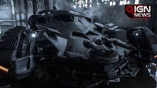 Batman vs Superman: Dawn of Justice - First Full Picture of the Batmobile - IGN News