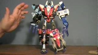 Transformers Energon Autobot Air Team (Superion Maximus) Review