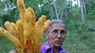 Village Foods ❤ Crispy Potato Fingers prepared in my Village by Grandma