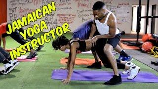 Jamaican yoga instructor