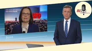 """Interview mit Andrea Nahles: """"Ehrliches und klares Ergebnis"""""""