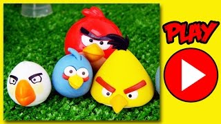 Angry Birds EPIC Full Movie of Surprise toys of the game - How to play by supercool4kids