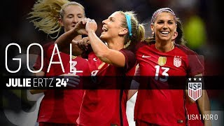 WNT vs. Korea Republic: Julie Ertz's Goal - Oct. 19, 2017