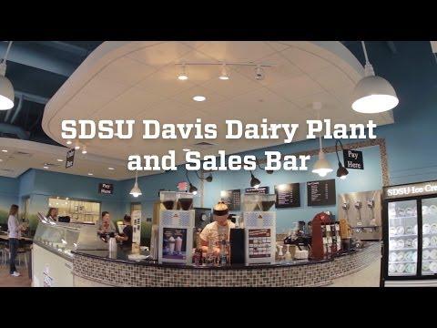 SDSU Davis Dairy Plant and Sales Bar
