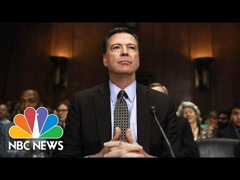 Xxx Mp4 Former FBI Director James Comey Testifies Before Senate Full NBC News 3gp Sex