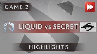 Team Liquid vs Team Secret [Game 2] Dota Pit League Season Five - Dota Highlights