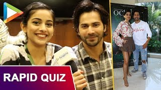 HILARIOUS: How well do Varun Dhawan and Banita Sandhu know each other?