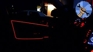COMO INSTALAR TIRAS LED DENTRO DEL AUTO (COMPLETO)
