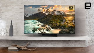 Sony Z Series 4K HDR LCD TV: First look