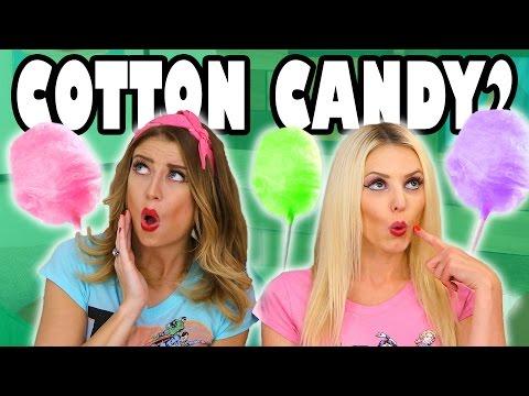Cotton Candy Challenge Jenn vs Lindsey. Totally TV