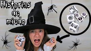 Inventa historias de miedo TERRORIFICAS de Halloween. DIY Story cubes