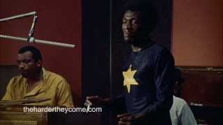 Jimmy Cliff Recording The Harder They Come In Studio Session