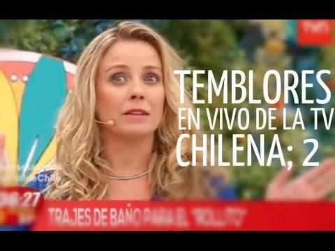 Temblores en vivo de la tv chilena parte 2 act 2014