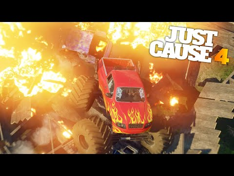 BROKEN BRIDGES AND AI DISASTERS in Just Cause 4