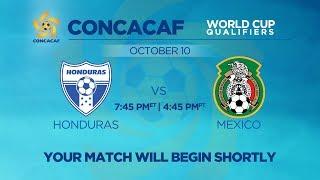 LIVE CONCACAF WCQ: Honduras vs. Mexico