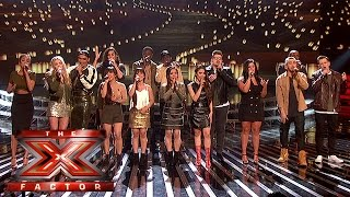 The Finalists performs Coldplay's Fix You | Week 2 Results | The X Factor 2015