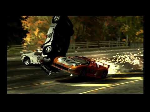 Need For Speed Most Wanted  Ford Gt Police Chase