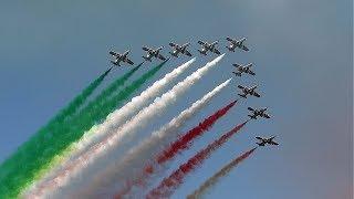 Frecce Tricolori Civitanova Marche Air Show 2017