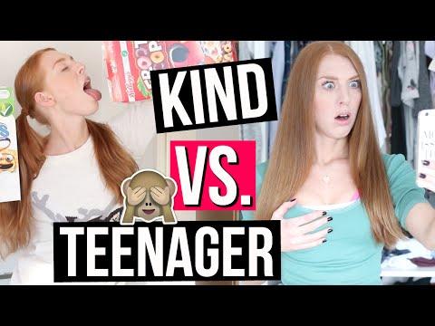 KIND VS. TEENAGER: MORGENROUTINE! | LaurenCocoXO