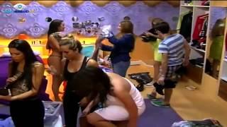 Las chicas cambiándose para la fiesta  Gran Hermano Argentina 2015