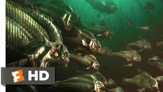 Piranha 3D (3/9) Movie CLIP - Fish Food (2010) HD