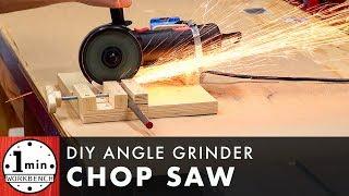 DIY Angle Grinder Stand