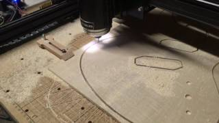 Cutting A Guitar Top With A CNC Machine