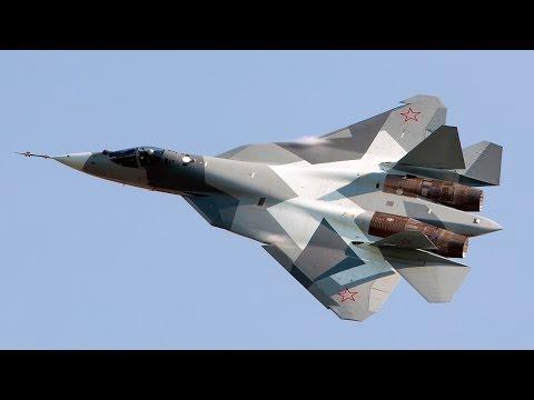 watch Sukhoi PAK FA (T-50) HD VIDEO