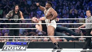 Roman Reigns, Dean Ambrose & Jimmy Uso vs. The New Day : SmackDown, September 10, 2015