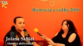 Interview s Jolanou Saltiel (2. 2. 2016)