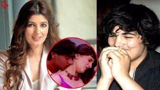 Ajay Devgan को Kiss करने पर Twinkle Khanna को ऐसे चिढ़ाता है बेटा Aarav